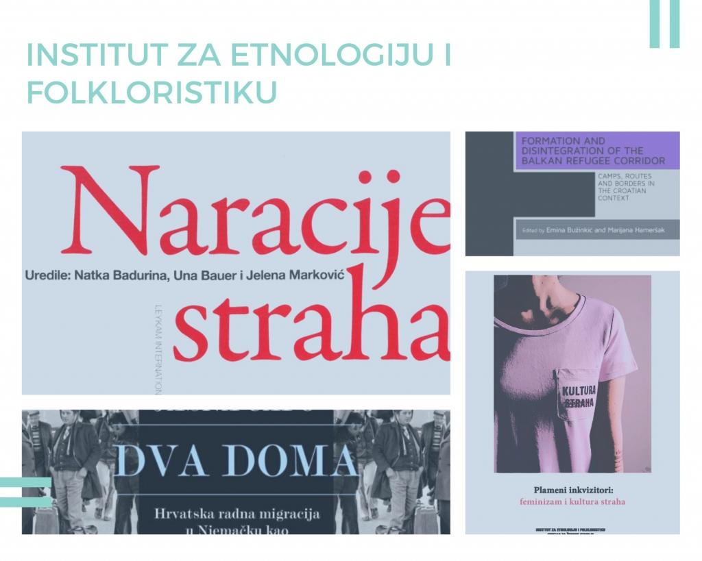 Nowości w Bibliotece Instytutu Slawistyki PAN dzięki uprzejmości Instytutu Etnologii i Folklorystyki w Zagrzebiu