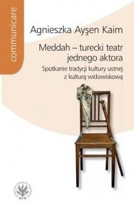 Okładka książki Meddah turecki teatr jednego aktora