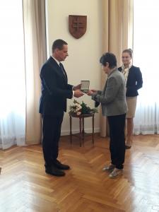 Wielki Złoty Medal dla prof. dr hab. Joanny Goszczyńskiej