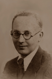 Józef Obrębski in the 1930s.