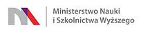 Logo MNiSW w języku polskim.