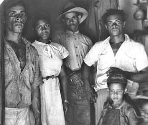 Peasant family and national society in Jamaica.